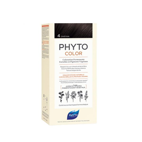 PHYTO COLOR 4 CHATAIN NF