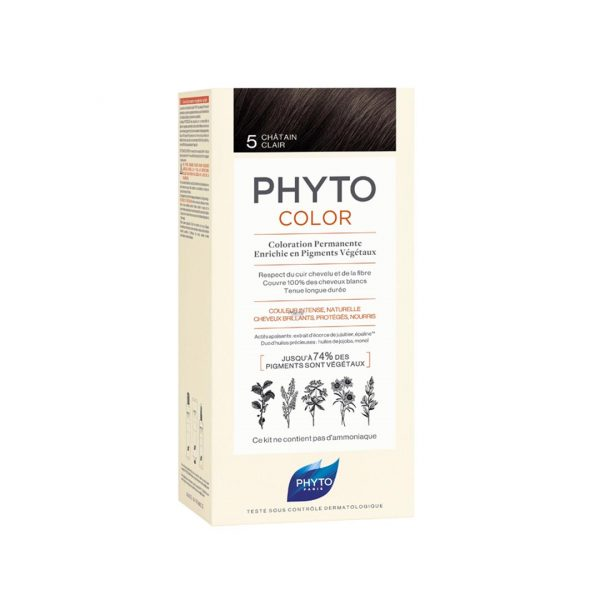 PHYTO COLOR 5 CHATAIN CLAIR NF