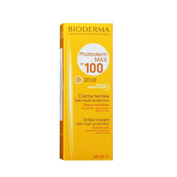 BIODERMA PHOTODERM MAX CREME TEINTEE CLAIRE 40 ML SPF100