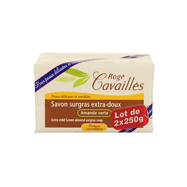 ROGÉ CAVAILLES SAVON PARFUME AMANDE VERTE 250G X2