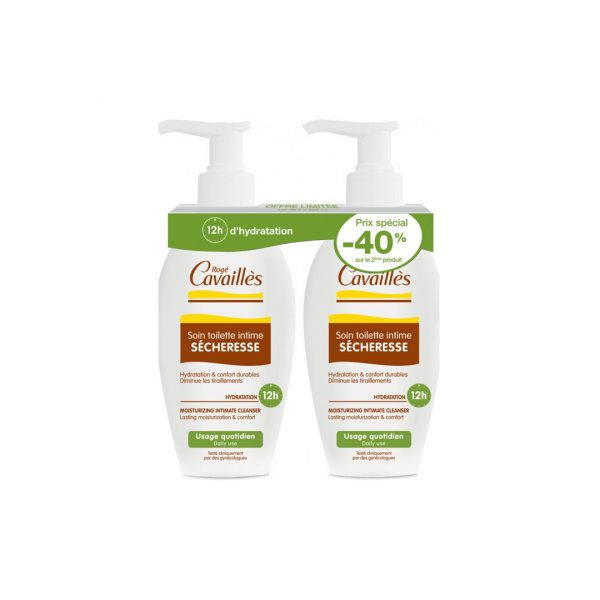 ROGÉ CAVAILLES SOIN TOILETTE INTIME SPECIAL SECHERESSE 200ML X2 -40%