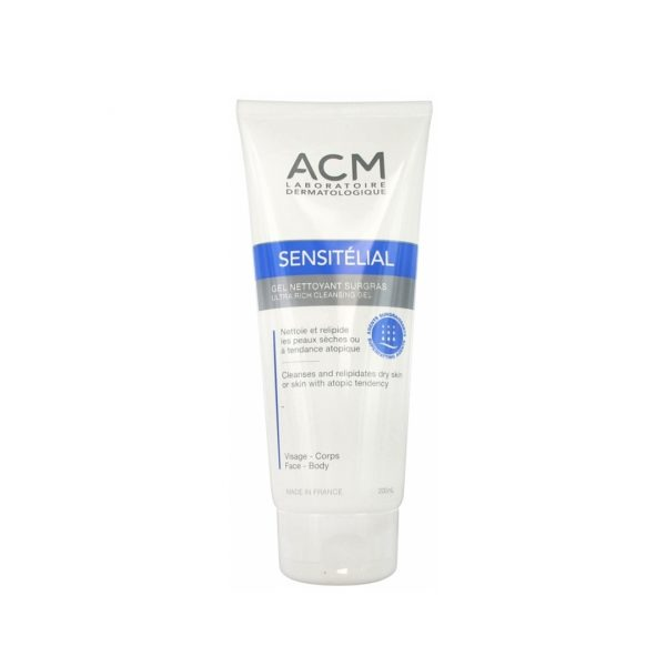 ACM SENSITELIAL GEL NETTOYANT 200 ML