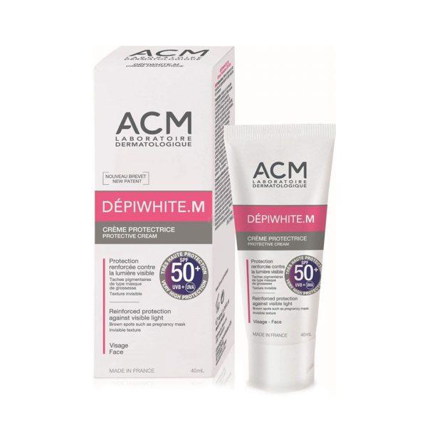 ACM DEPIWHITE M ECRAN SOLAIRE 50+40 ML