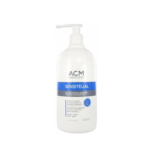 ACM SENSITELIAL GEL NETTOYANT 500 ML