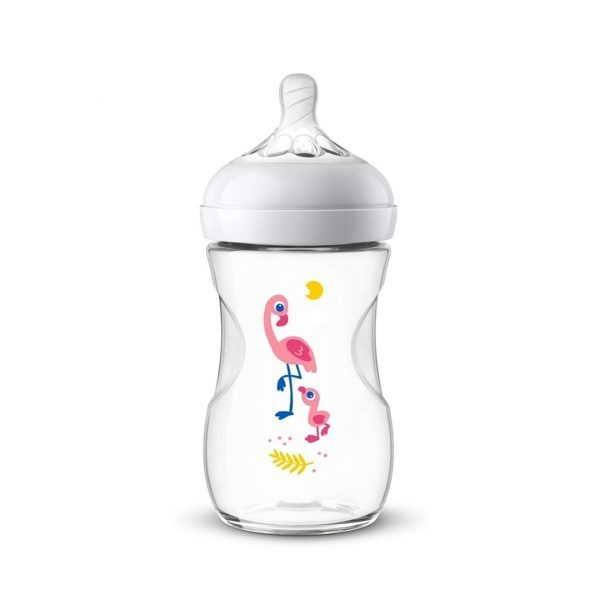 AVENT BOTTLE NATURAL 2.0 9OZ FLAMING