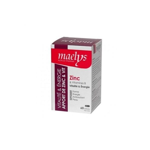 ACM MAELYS ZINC 60 GELULES