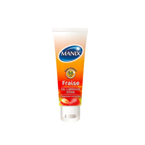 MANIX GEL FRAISE 80 ML