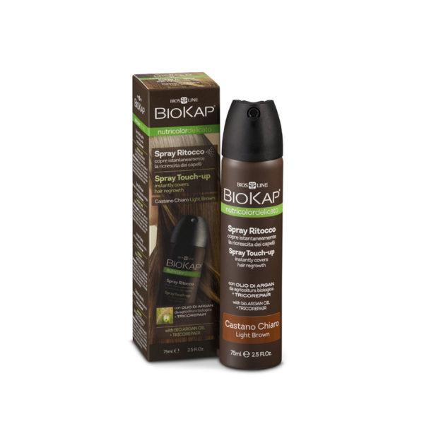 BIOKAP Nutricolor delicato Spray Retouche CHÄTIN FONCE