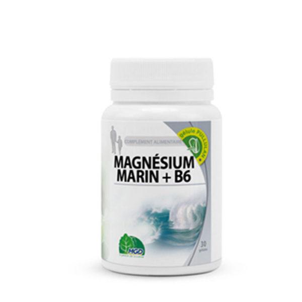 MAGNESIUM MARIN + B6, 60 GÉLULES
